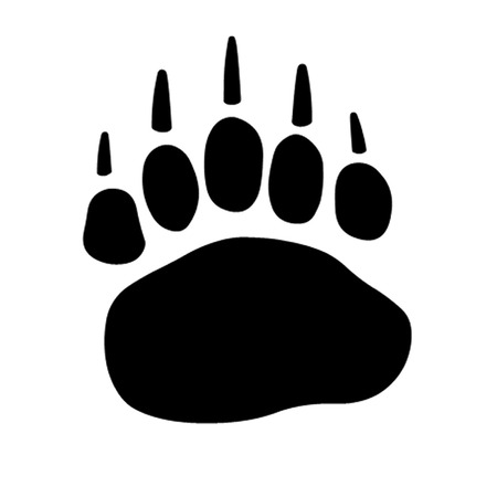 spectacled: Bear Paw