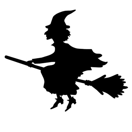 wicca: Witch on a Broom