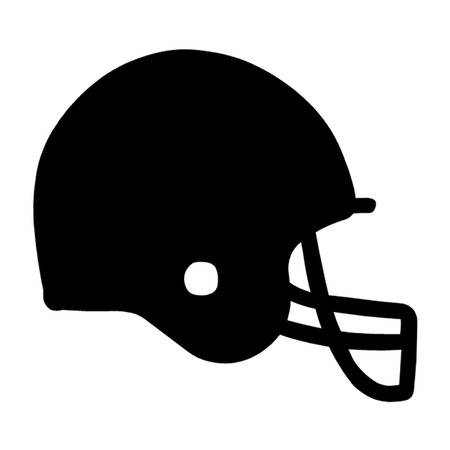 football: American Football Helmet Illustration