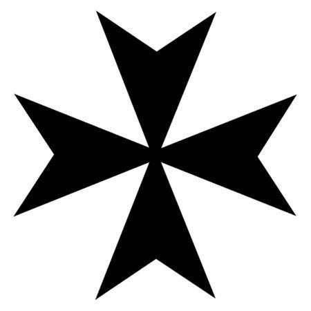 593 maltese cross stock vector illustration and royalty free maltese rh 123rf com maltese cross vector art free eps maltese cross vector image