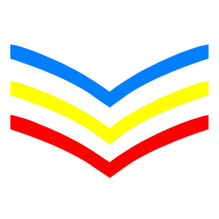 sergeant: UK Gay Sergeant Stripes Illustration