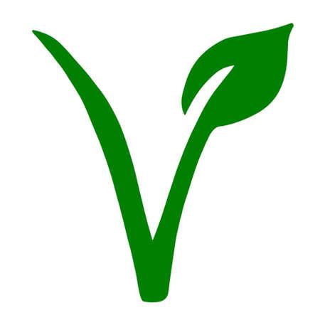 simbolo: Vegetariani simbolo