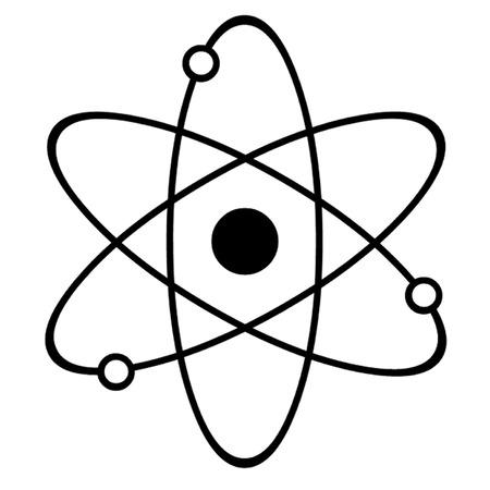 Atom Symbol Reklamní fotografie - 38732808