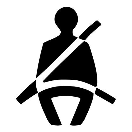 seatbelt: Seat Belt Symbol