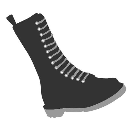 toes: Boot illustration