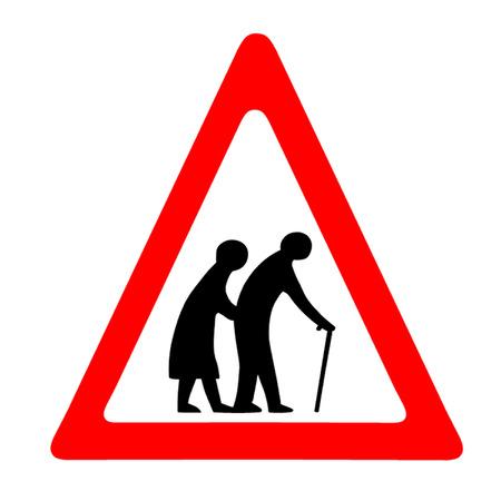 Ouderen Crossing Sign