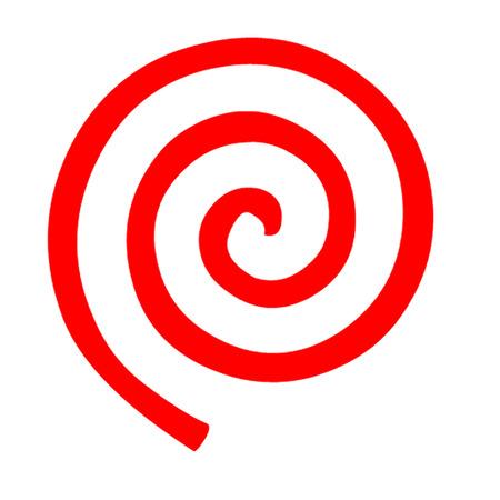 螺線形の図