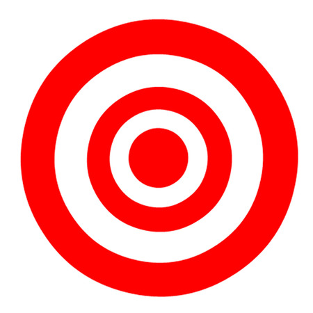 shooting: Bullseye Target Illustration