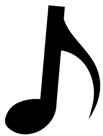 eighth note: Quaver or Eighth Note Illustration
