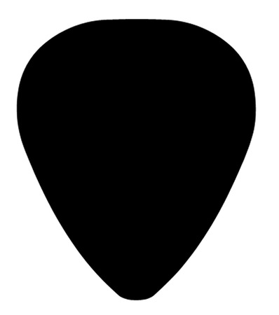 Plectrum Stock Illustratie