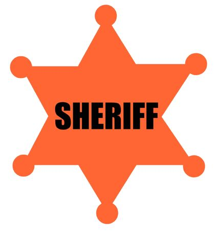 sheriffs: Sheriffs Badge