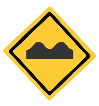 speed: Speed Bump Symbol