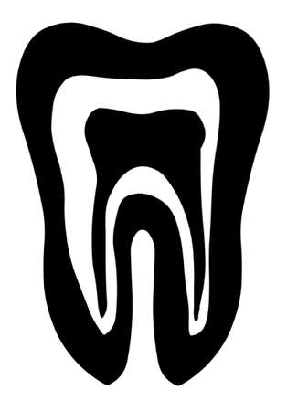 hygienist: Tooth Illustration