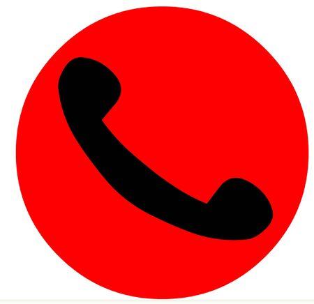 phoning: Phone Symbol