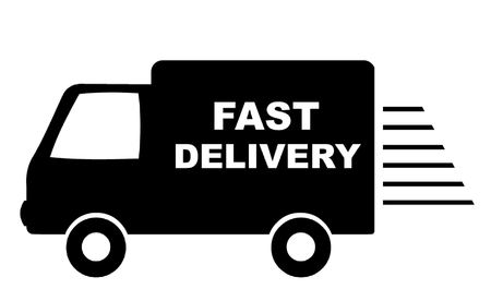 fast delivery: Fast Delivery Van