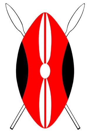 Kenyan Maasai Shield