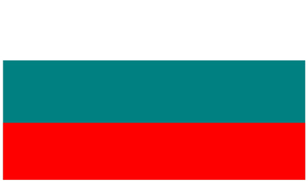 ruse: Flag of Bulgaria