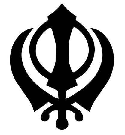 sikh: Khanda Sikh Symbol