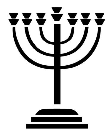 jewish: Jewish Menora