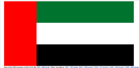 아랍 에미리트의 국기
