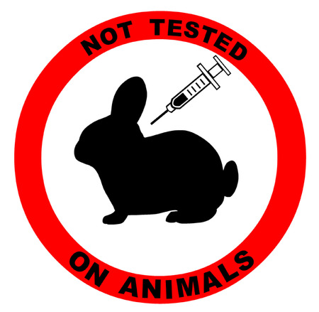 Not Tested on Animals Symbol Illustration