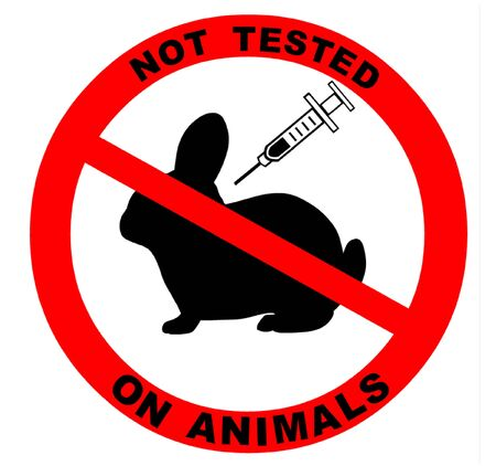 cruelty: Not Tested on Animals Symbol Illustration