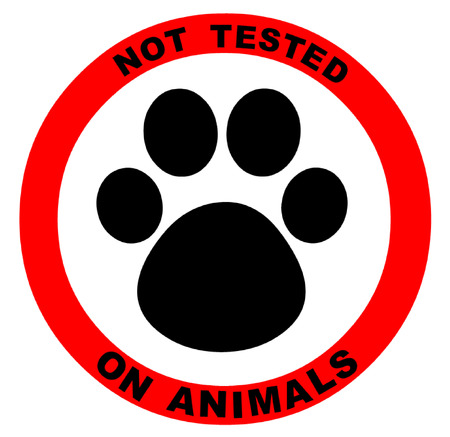 medical exam: Not Tested on Animals Symbol Illustration