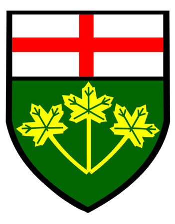 Ontario Shield of Arms