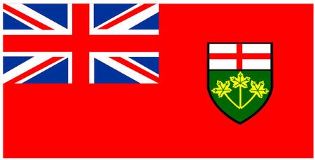 ontario: Flag of Ontario