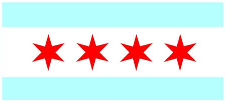 midwest: Flag of Chicago