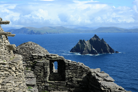 michael: View from Skellig Michael Skellig on Little Iceland,Ireland,Europe