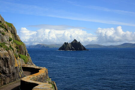 michael: View from Skellig Michael Skellig on Little, County Kerry, Ireland