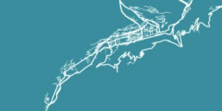 Detailed vector map of Andorra la Vella, scale 1:30 000, Andorra Illustration