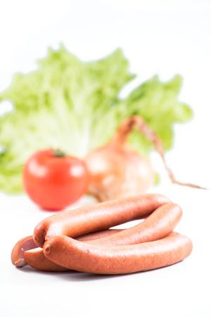 german sausage: three german sausage and herbs used to prepare Those That Were