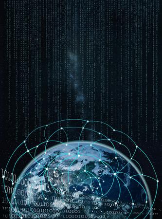 transnational: global network on earth -