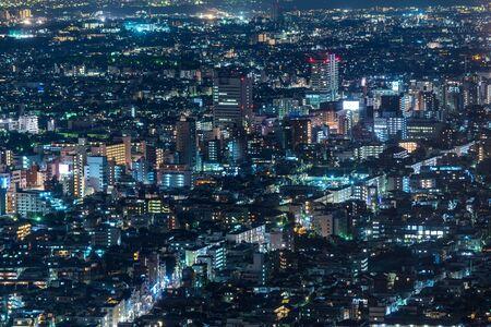 都庁からの東京夜景が綺麗