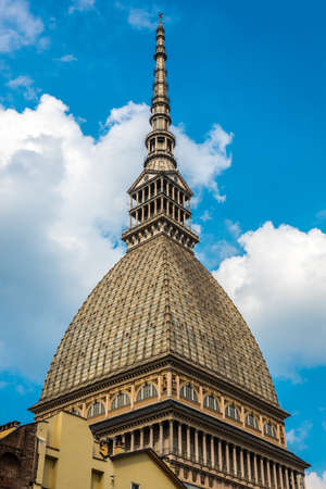 synagogues: mole antonelliana in Turin is the highest building made of brick in the world