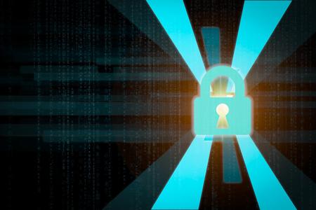 Digital lock as password safety