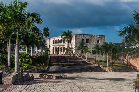 santo domingo: palace in dominican republic capital santo domingo Editorial