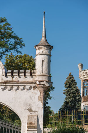 rapunzel: A turret in an ancient manor in ukraine Editorial
