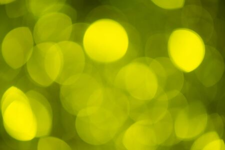 green christmas lights: Abstract and blurred green Christmas lights