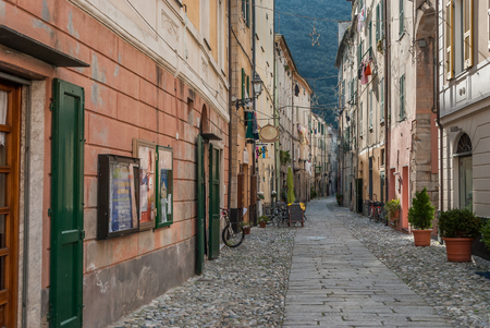 finale: A village in liguria called finale ligure Stock Photo