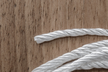 A natural rope used to build electronic cigarettes wicks