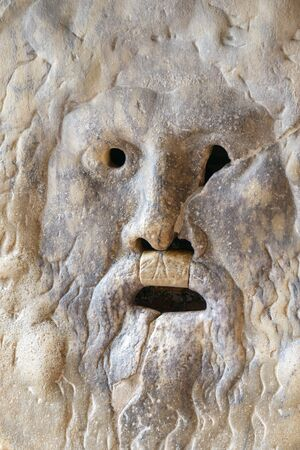 manlike: is an image carved from marble Pavonazzo of a manlike face located in the portico of the church of Santa Maria in Cosmedin in Rome Italy. The most famous characteristic of the Mouth However is its role as a lie detector. Starting from the Middle Ages it w Editorial