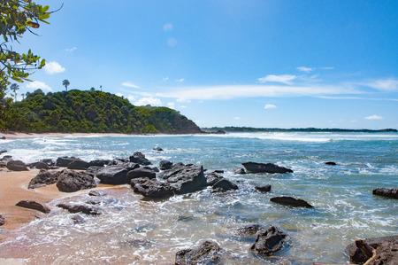 dominican: ocean sea in dominican republic in caribbean