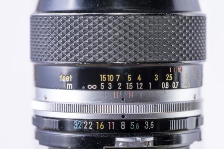 A vintage optical lens for film and dslr camera