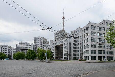 kharkiv, 우크라이나에서 소련 건축 건물