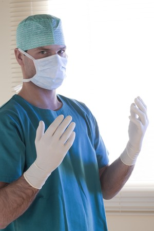 Doctor ready for surgery Stock Photo - 7275625