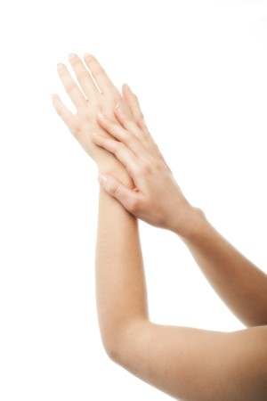 Close-up of beautiful hands Stock Photo - 7380427