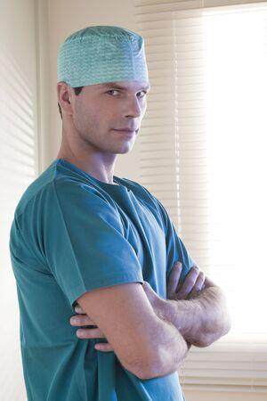 Male surgeon portrait Stock Photo - 7368836
